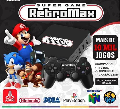 Video Game Retro 10 Mil Jogos + 2 Controles
