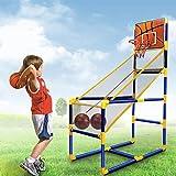 YQZ Juego de Arcade de Baloncesto para niños, Mini Sistema de Tiro de Baloncesto de Juguete para Interiores, Juego de Deportes de Juguetes para niños para niños y niñas