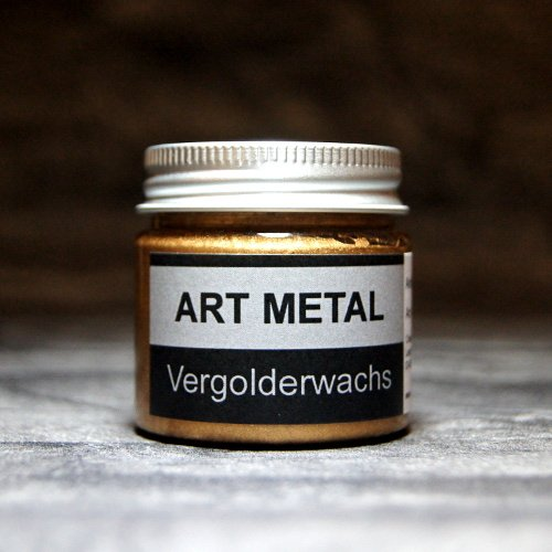 Credo-Blattgold Art Metal Vergolderwachs Antikgold 50 ml vergolden versilbern