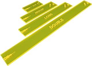 LITKO Gaslands Miniatures Game Shooting Gauges Set, Fluorescent Yellow (4)