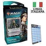 Andycards Mazzo Elspeth Bianco - Theros Oltre la Morte - 60 Carte Magic in Italiano con Planeswalker + 2 Buste + Segnapunti