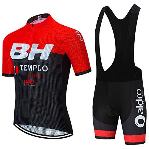Maillot Ciclismo y Culote Traje Ciclismo Equipacion para MTB Ciclista Conjunto Ciclismo...
