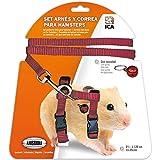 ICA Harnais et Sangle pour Hamster (DA975) Violet