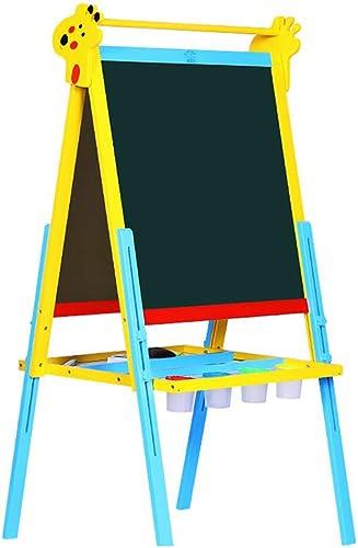 de moda D_HOME Tablero de dibujo para Niños Tablero Tablero Tablero de dibujo magnético de doble cara Tablero de grafito pequeño soporte de pizarra para bebés (65  60  108  142 cm) ( Color   azul , Tamaño   1456560cm )  hasta un 65% de descuento