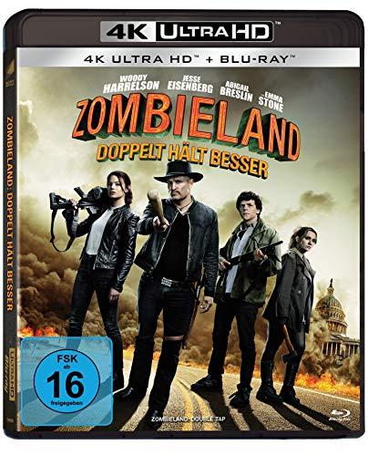 Zombieland: Doppelt hält besser (UHD) [Blu-ray] [Alemania]