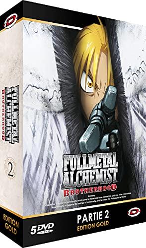Fullmetal Alchemist : Brotherhood - Partie 2 - Edition Gold (5 DVD + Livret)