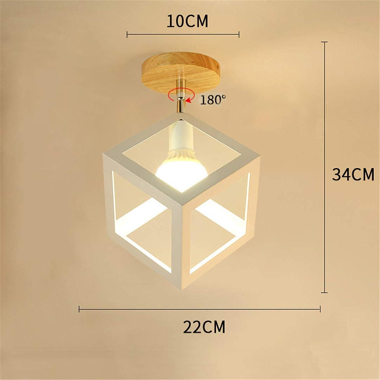 se descuenta Luminaria Luminaria Luminaria de techo moderna Nordic LED Lámpara de techo Color cuadrado Luminaria para comedor Cocina 02  edición limitada en caliente