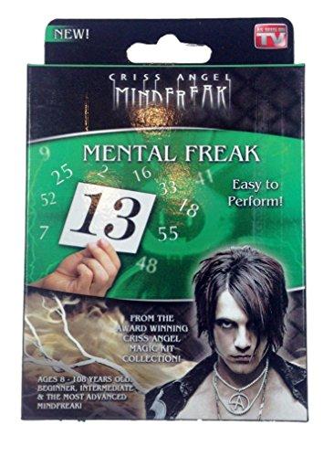 Criss Angel Mental Freak- Mind Freak - Magic Trick tour de magie