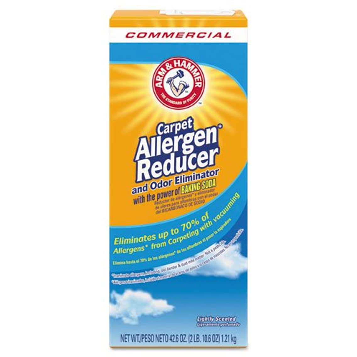 Arm & Hammer Carpet & Room Allergen Reducer and Odor Eliminator, 42.6 oz Box