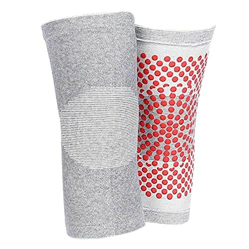 1 par de rodilleras autocalentables, protector magnético de hipertermia, cómoda rodillera con calefacción, almohadilla térmica para la fatiga de la rodilla, se puede utilizar para aliviar la artritis