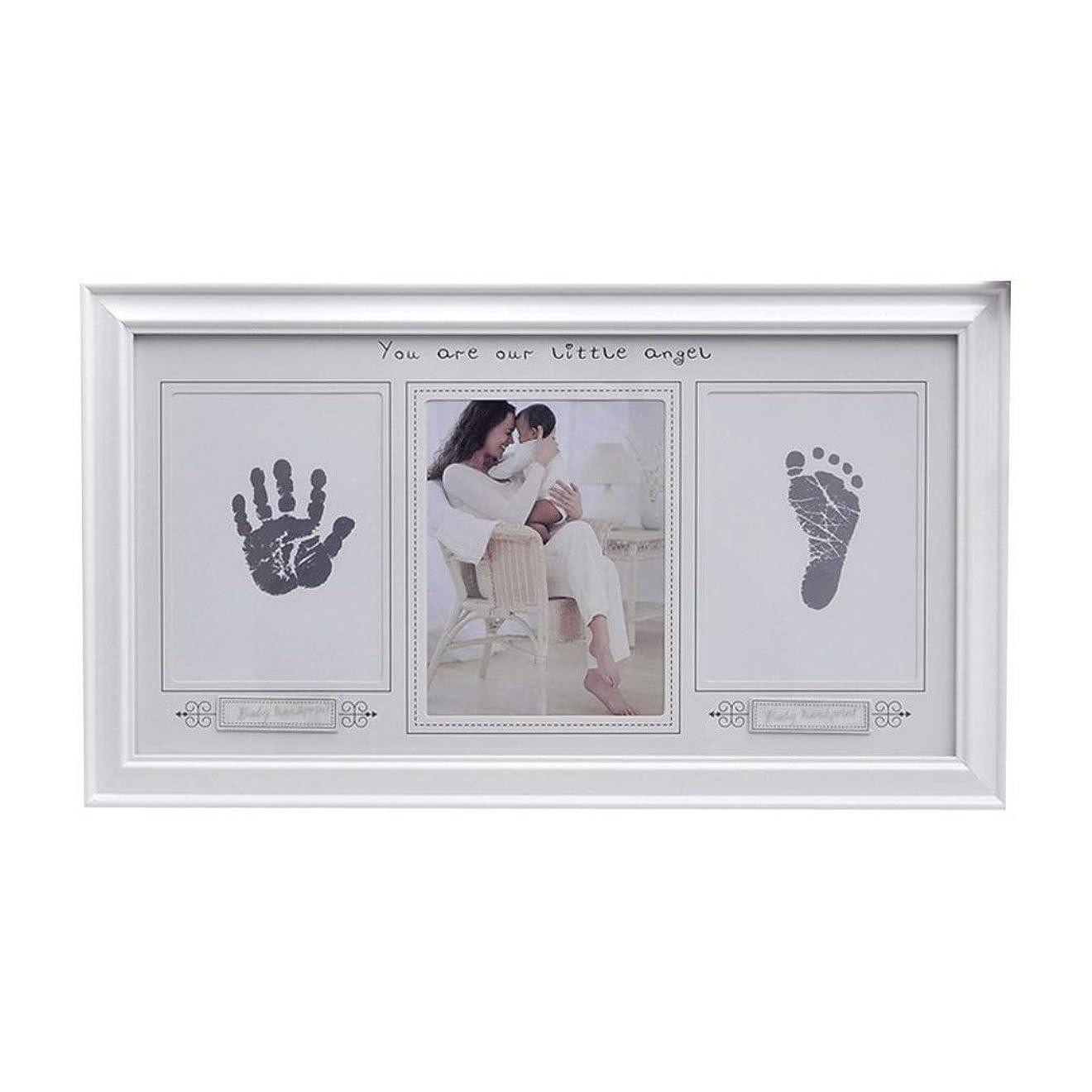 本体フィットネス説得Lelestarフレーム ベビーフレーム 赤ちゃん 手形 足形 フォトフレーム ベビーアルバム フレームベビー フォト 写真立て 置き掛け兼用 無毒で安全 赤ちゃん 出産祝い 内祝い ベビー記念品
