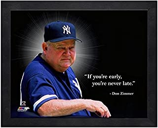 MLB Don Zimmer New York Yankees Pro Quotes Photo (Size: 17
