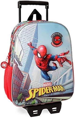 Marvel Grafiti Zainetto per bambini, 33 cm, 9.8 liters, Multicolore (Multicolor)