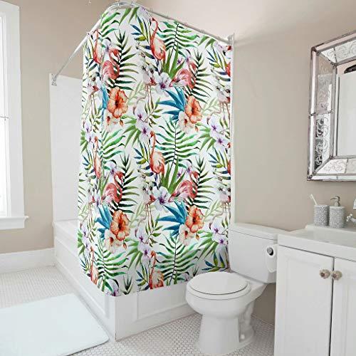 Toomjie Muster Duschvorhänge Anti-Bakteriell Vorhang Bad Vorhang Wohnaccessoires B x H:120 x 200 cm