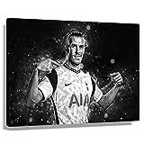 Fußballstar Gareth Bale, Poster, Naturdekoration, Kunst