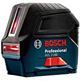 BOSCH GCL 2-160S-RT 65 ft. Self Leveling Cross Line Laser Level w/Plumb Points (Renewed)
