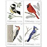 Birds in Winter 2018 Forever Stamps USPS (4 Booklets 20)