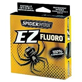 Spiderwire EZ Fluorocarbone Fil 200yd Breaking Strains 2.7kg – 15lb Carpe Mer Game Ligne De Pêche