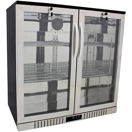bar back stainless minstrel 90cm IMC bottle fridge