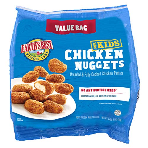 Earth's Best Frozen Chicken Nuggets for Kids, 16 Oz