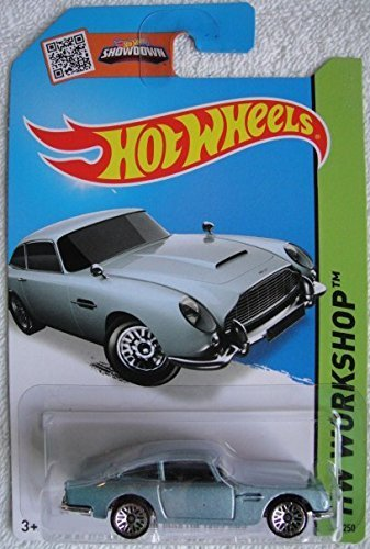 HOT WHEELS SHOWDOWN HW WORKSHOP BLUE ASTON MARTIN 1963 DB5 245/250 by Hot Wheels