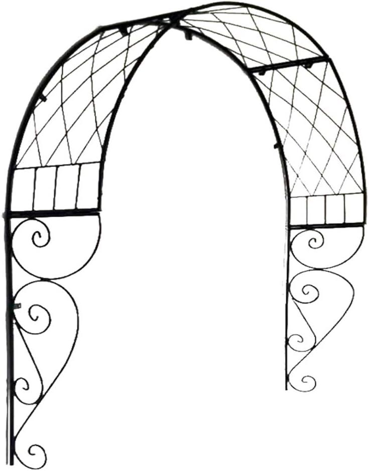 XLOO Outdoor Garden Arch Door 限定品 毎日続々入荷 Gar Trim Metal Decorative