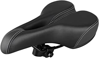 Comfort Wide Big Bum Racing Riding Bike BMX MTB Bicycle Mountain Cruiser Extra Sporty Soft Pad Saddle Seat