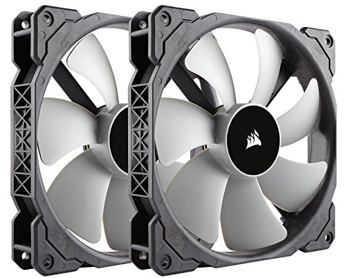 Corsair ML140, 140mm Premium Magnetic Levitation Fan (2-Pack)