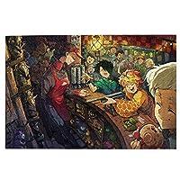 ジグソーパズル 約束のネバーランド 1000ピース 大人用 木製ピース パズル キャラクター アニメパターン 子供 初心者向け 誕生日 プレゼント