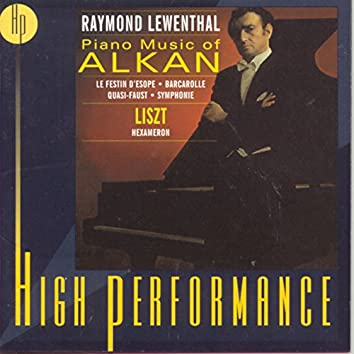Piano Music of Alkan, Liszt:Hexameron