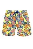 Tipsy Elves Pineapple Swim Trunks, Medium