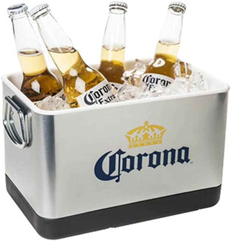 Corona Beer Ice Bucket Stainless Steel