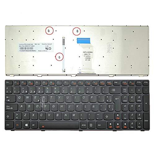 IFINGER Teclado Español Lenovo Y580 Gray Frame Black Backlit
