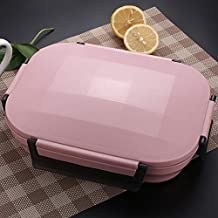 WZHZJ Stainless Steel Thermos Lunch Box for Kids Gray Bag Set Bento Box Leakproof Japanese Style Food Container Thermal Lu...