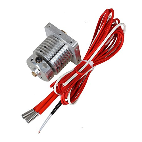 3D Printer Parts for Improved E3D Multi-extrusion 3 In 1 Out Hotend Kit Multi Color Hot End 0.4mm/1.75mm for PLA/ABS Filament