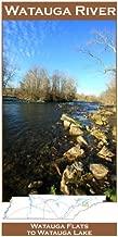 Watauga River 11x17 Fly Fishing Map