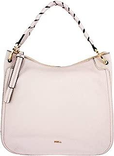 Rialto Ladies Medium White Perla Leather Hobo Bag 977651