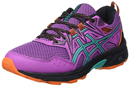 Asics Gel-Venture 8, Trail Running Shoe Mujer, Digital Grape/Baltic Jewel, 38 EU