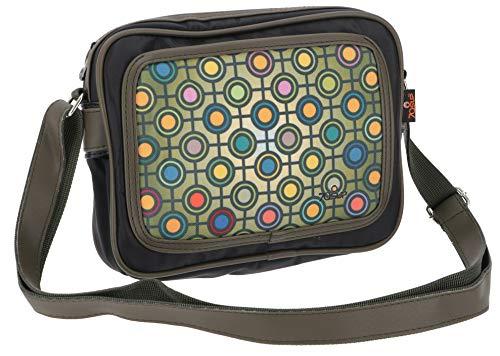 Guru-Shop Kleine Retro Schoudertas Fototas - Model 11, Unisex Adults, Veelkleurig, Synthetisch, Size:One Size, 20x23x6 cm, Retrozakken