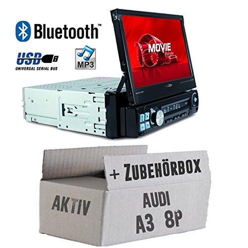 Autoradio radio Caliber RMD574BT - Bluetooth | MP3 | USB | SD | 7 inch TFT - inbouwaccessoires - inbouwset voor Audi A3 8P ACTIV - JUST SOUND beste keuze voor caraudio