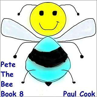 Pete the Bee Book 8 audiobook cover art