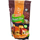 Sushi Brown Rice, Premium Japanese Short Grain Rice, Specially Selected, 16oz Resealable Bag