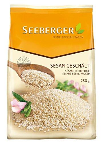 Seeberger Sesam geschält, 250 g.
