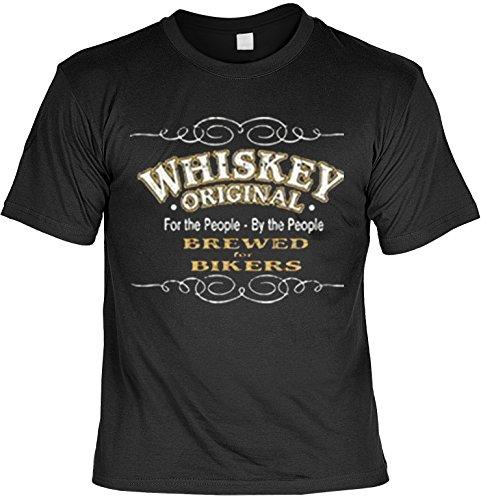 T-shirt Whiskey Original USA motief shirt Amerika voor bikers heren T-shirt American Laiberl Leiberl cadeau voor vrienden