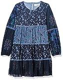 Desigual Vest_reme Vestido Casual, Azul, 9-10 Años para Niñas