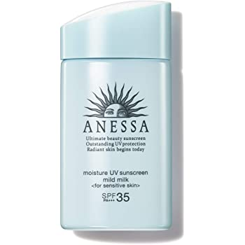 ANESSA(アネッサ) モイスチャーUV マイルドミルク a 日焼け止め 敏感肌 無香料 60mL