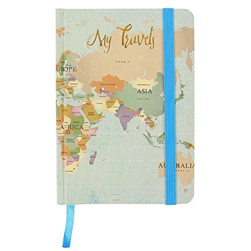 Mis viajes de aventura Paperback Diario A6 Notebook