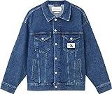 Calvin Klein Dad Jacket Chaqueta, Denim Medium, L para Mujer