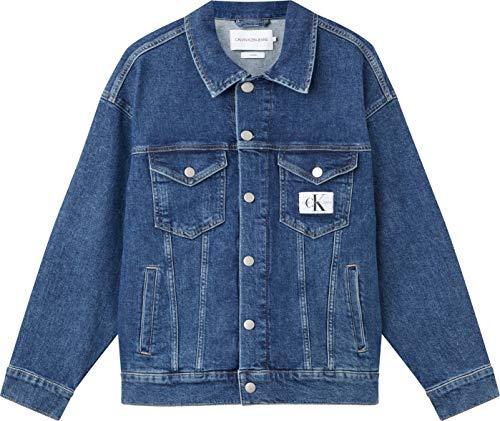 Calvin Klein Jeans Dad Jacket Chaqueta, Denim Medium, M para Mujer