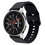 Syxinn Compatibile con 22mm Cinturino Galaxy Watch 46mm Braccialetto Gear S3 Frontier/Classic Silicone Polso Band per Gear S3/ Huawei Watch GT/GT 2 46mm/Moto 360 2nd Gen 46mm/Ticwatch PRO